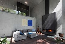 fireplace room   / by Martucha Alonso
