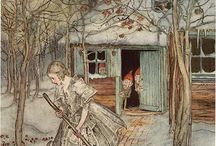 ILLUSTRATORS - Arthur Rackham / art & illustrations by Arthur Rackham.