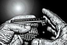 Harmonica tattoo