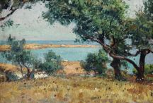 Mallorca. / Eliseo Meifrén Roig. Pinturas al óleo de Mallorca.