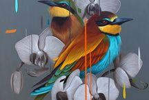 ART + Birds