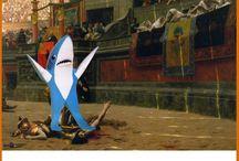 Left Shark / by Melissa Hicks