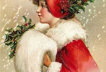 Cards - Vintage Christmas / by Anne Nichols