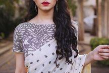 Saree hair