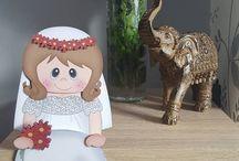 Wedding on the shelf cards
