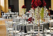 Black Weddings  centre pieces