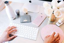 Woman office design