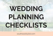 Wedding Checklists / Checklists for every stage of the wedding planning process.