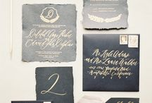 Svadobne oznamenie / Calligraphy / Envelope / Fonts