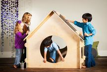 Indoor Playhouses by A Place Imagined / At A Place Imagined, we believe play is essential to a child's development and strive to create heirloom quality playhouses that encourage self expression and open ended play.