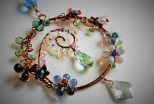 jewellery: wire + beads