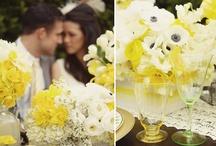 Yellow & Grey Wedding Ideas
