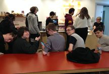 TV Taster day @ Brighton Uni / Student experience of live broadcasting - producing news and  University Challenge
