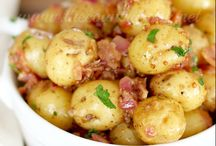 Get Outside / Have fun eating or cooking outside - perfect potato recipes for picnics or patios!