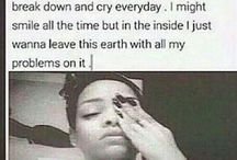 in my feelings.