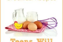 Recipes for Moms with Teens