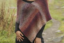 poncho pattern knitted
