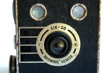 Vintage cameras / Vintage cameras, old cameras, gifts for photographers.