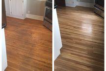 Hardwood Floor Refinishing Ideas