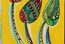 Zentangle - I can learn! / by Pat Simmons Frederick