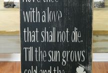 """'There is no fear in love, for perfect love casts out fear' / """"Encouragement to love without fear!"""""""
