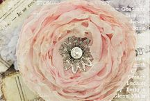 Fabric flowers & brooch bouquets / by Sue Poole