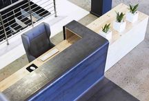 Office Counters Reception Desk Ideas
