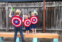 Captain America clothes and stuff DIY