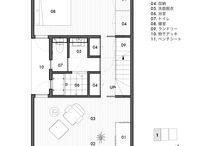 開放感たっぷりシンプルな家 / 集合住宅