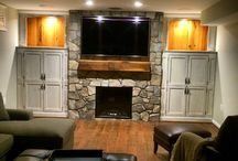 Reclaimed Barnwood Mantle Shelves / Your home is so much more than shelter. It's the place where you laugh, grow, and love. It's the location of your life. From historical renovations to modern designs, our architectural accents add character and beauty to every room in your home