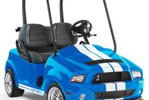 Golfing Blue! / Favorite color blue? Favorite sport golf? Check and check!