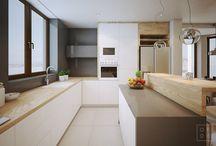 Idei amenajare bucatarie / Descopera idei pentru amenajarea bucatariei. Idei de amenajare a bucatariei in stil modern si clasic. Mobilier, sfaturi si idei pentru amenajarea bucatariei