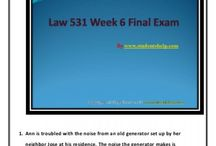 Law 531 Week 6 Final Exam