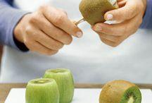 Skrelle frukt og grønnsaker