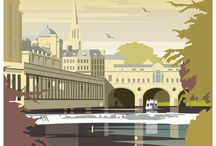 Cityscapes - art, drawings, doodles, prints