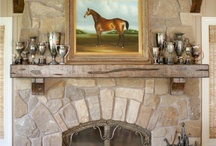 Decorating - Fireplace / by Cathie Moros