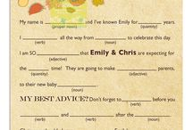 fall babyshower / because I can dream of how it would be with my favorite season / by Brittany Ann