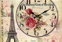 relojes  en vintage