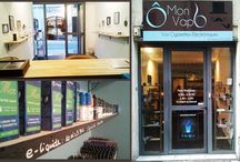 La Boutique à Montpellier / La boutique de Cigarette Electronique Ô Mon VapO Montpellier