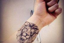 Tatouage / Lion