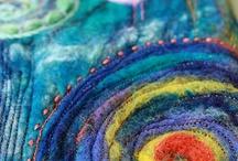 lana infeltrita ad acqua