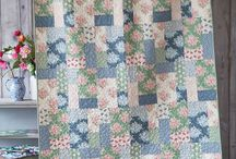 Flowers fabric quilts