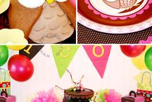Birthday Party Ideas for my Kids, Nieces, and Nephews / by Crystal Caron