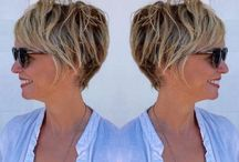 krótkie fryzury damskie blond