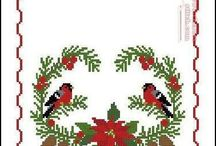 christmas ornaments cross stitch