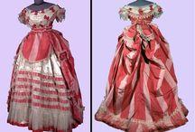 Women's Clothes c1856 - c1887