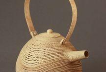 Théières et céramiques