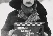 Andrei Tarkovski / Fue un director de cine, actor y escritor soviético. Es considerado uno de los más importantes e influyentes autores del cine ruso en tiempos de la Unión Soviética y uno de los más grandes de la historia del cine.