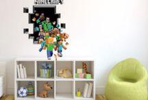 Minecraft väggdekor