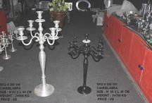 Candelabra / Aluminium Candelabra in many shapes & Sizes